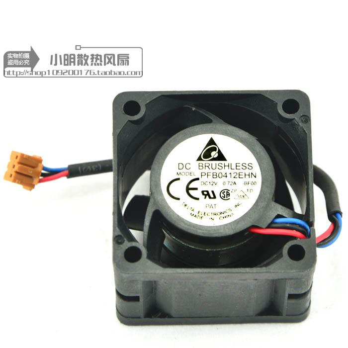 For Delta 1U Server 4028 0.72 4-Wire PWM Temperature Control Double Ball High Speed ??Large Air Cooling Fan - ebowsos