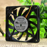 For Original EVERFLOW R127010DL 7010 7CM 12V 0.18A Ultra-thin Ball Fan - ebowsos