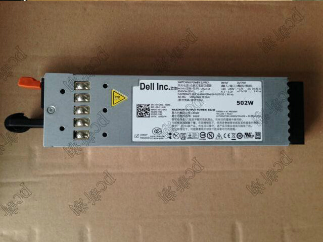 Original new For Dell R610 502W server power OXTGFW R610 power supply - ebowsos