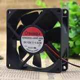 For Jian SUNON EE80251S2-Q010-999 8025 8CM 12V 1.6W chassis fan - ebowsos