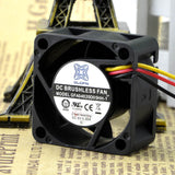 For Original LOFN/Goffford GFA04020H05HH-1 4020 5V 0.30A Server Fan 3 Wire - ebowsos