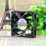 For AVC 7015 12V 0.7A 7CM double ball high air volume CPU chassis cooling fan DA07015B12U - ebowsos