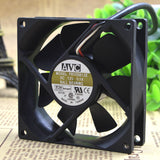 For Taiwan AVC 8025 F8025B12E 12V 0.1A 3 line double ball cooling fan 80*80*25MM - ebowsos