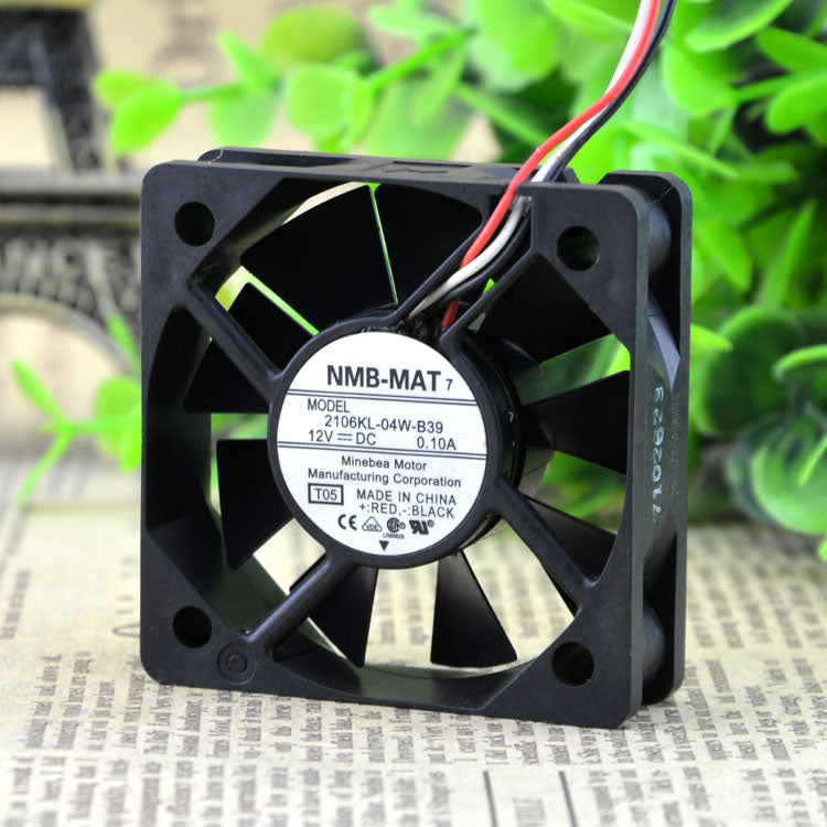 For Brand New Original Meebia NMB 2106KL-04W-B39 5015 12V 0.10A Projector Fan - ebowsos