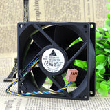For Genuine Delta AFC0912DF U7581 12V 1.43A 9032 9CM 4-wire PWM fan - ebowsos