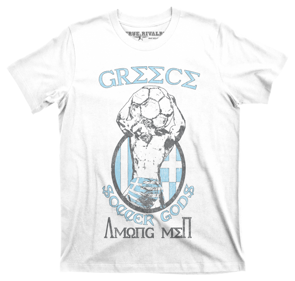 Greece Soccer - Soccer T-Shirt