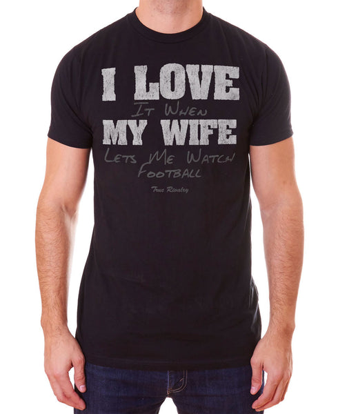 Love My Wife: Football