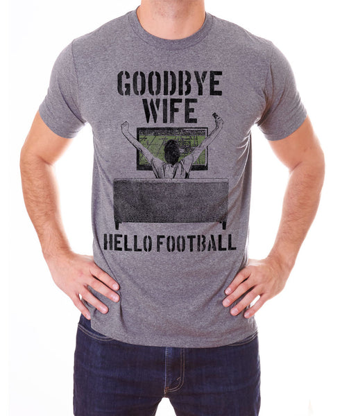 Goodbye Wife, Hello Football
