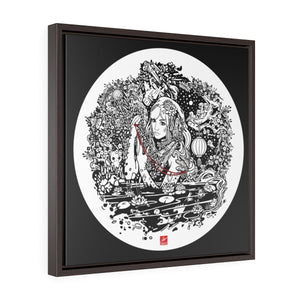 Nymphs Framed Canvas