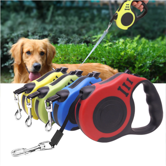 PUPPY-PROTECTION™ - Single Retractable Flexible Dog Leash 3M/5M