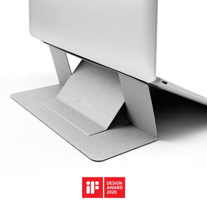MOFT 'Airflow' Laptop SilverMOFT Stand - Made by Moft