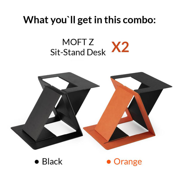 MOFT Z Sit-Stand Desk Combo MOFT Z - Made by Moft