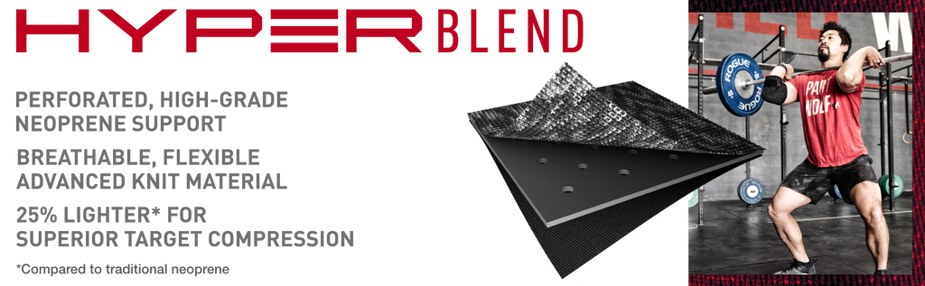 HyperBlend™ Knee Sleeve Product Header