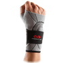 Silver McDavid Wrist Sleeve with Straps for Support and Protection - Ideal for Injury Recovery