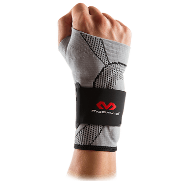 Wrist Sleeve/4-Way Elastic w/Gel Buttresses & Straps - McDavid