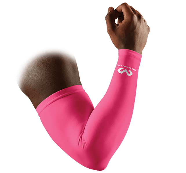Pink Compression Arm Sleeves/Pair