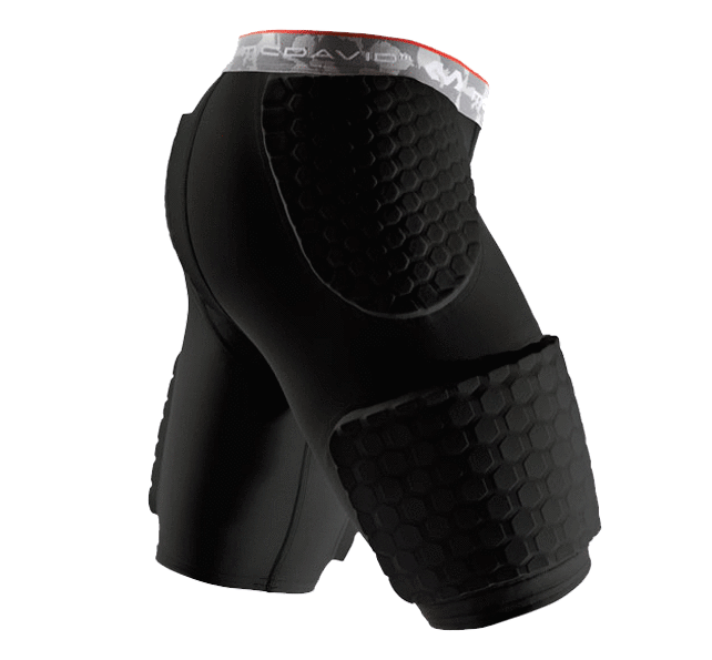 HEX® Dual-Density Thudd Short W/Wrap-Around Thigh