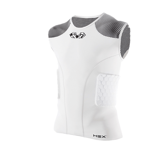 HEX® Dual-Density Sleeveless Shirt/3-Pad - McDavid