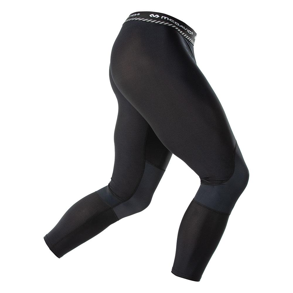 McDavid Basketball Compression 3/4 Tight w/ Knee Support - Hero Shot Angle