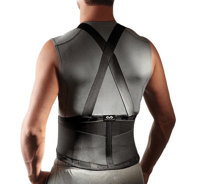 Back Support w/Suspenders - McDavid