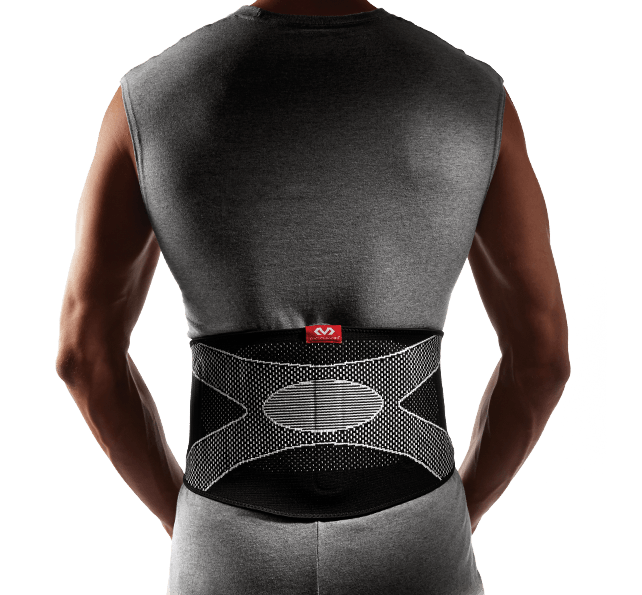 Back Support/4-Way Elastic w/Pad - McDavid