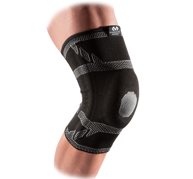 ELITE Engineered Elastic™ Knee Sleeve w/ Gel Buttress & Stays - McDavid