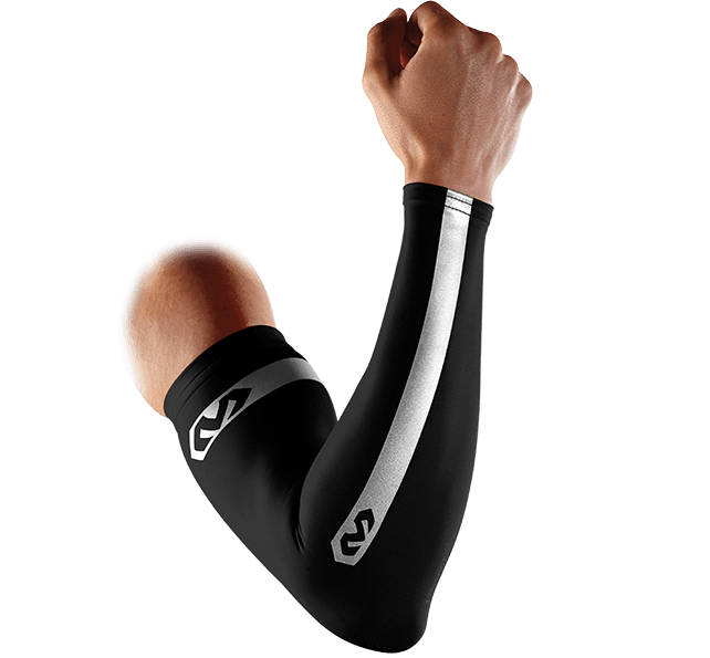 Reflective Compression Arm Sleeves/Pair - McDavid