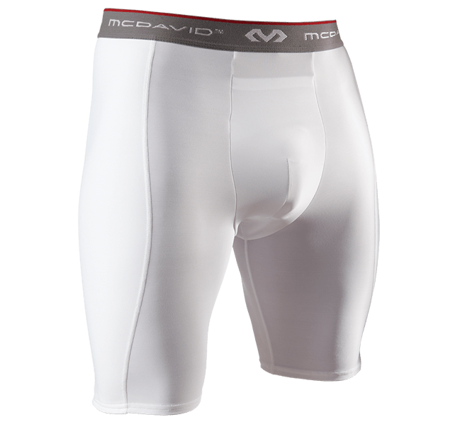 Compression Short/Double-Layer w/Flexcup - McDavid