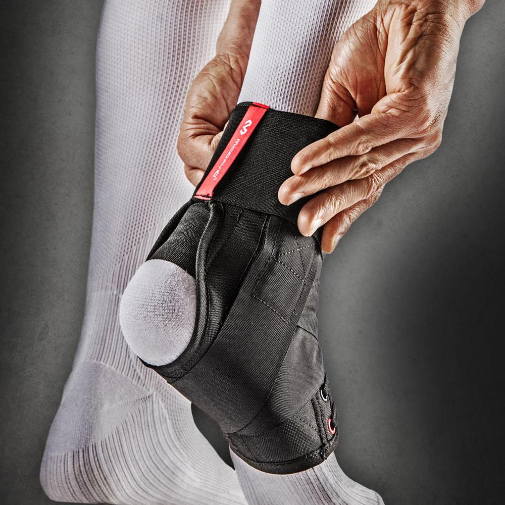 Advanced Ankle Brace with Straps Lightweight Boxing Football Running Sports