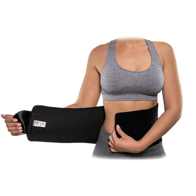 McDavid Women's Waist Trimmer on Mid-Section  - Front Open Wrap to Help Slim, Lose Weight, and Burn Calories