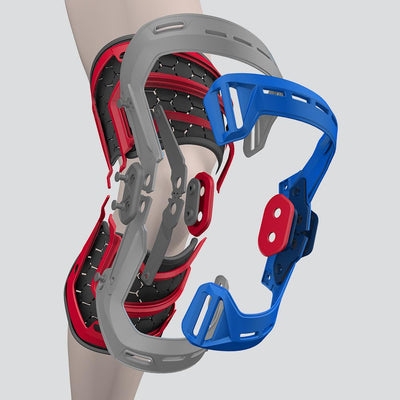 Tech View of ELITE Bio-Logix Knee Brace Showcasing Engineering Design