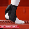 McDavid Phantom Ankle Brace 4303  - Tech Callout of Design that Replaces Need for Taping Pre and Post Game