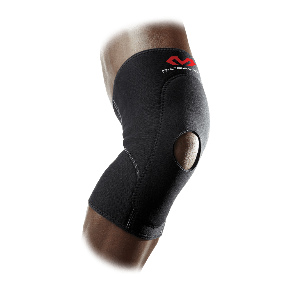 Knee Sleeve w/Anterior Patch & Open Patella