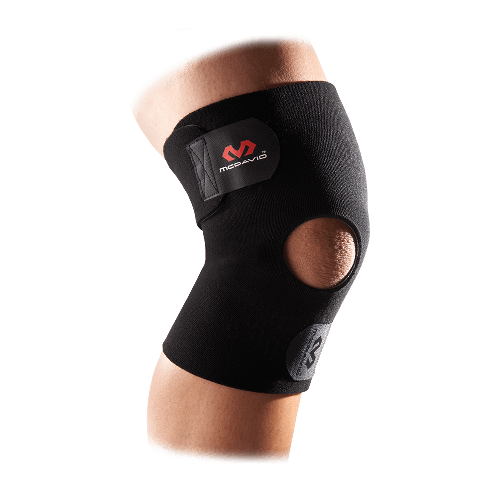 Knee Wrap/Adjustable w/Open Patella - McDavid