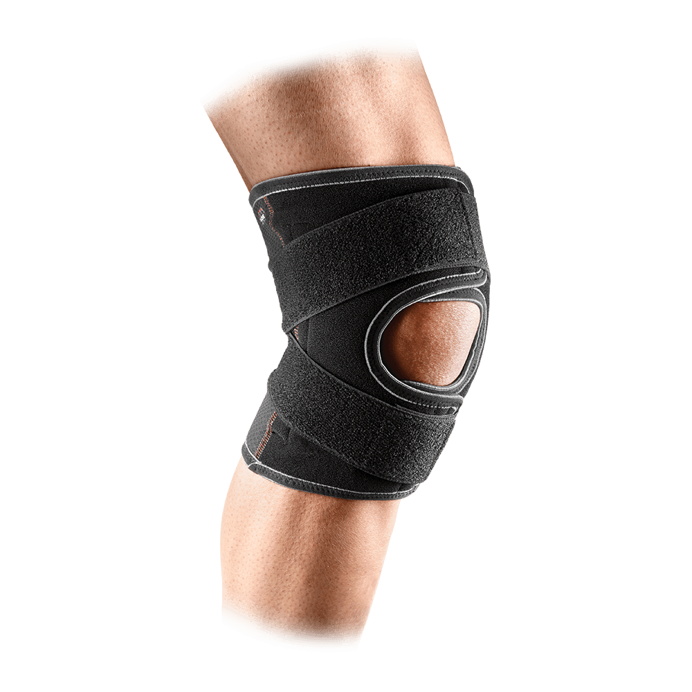 Knee Support/Adjustable/Cross Straps - McDavid