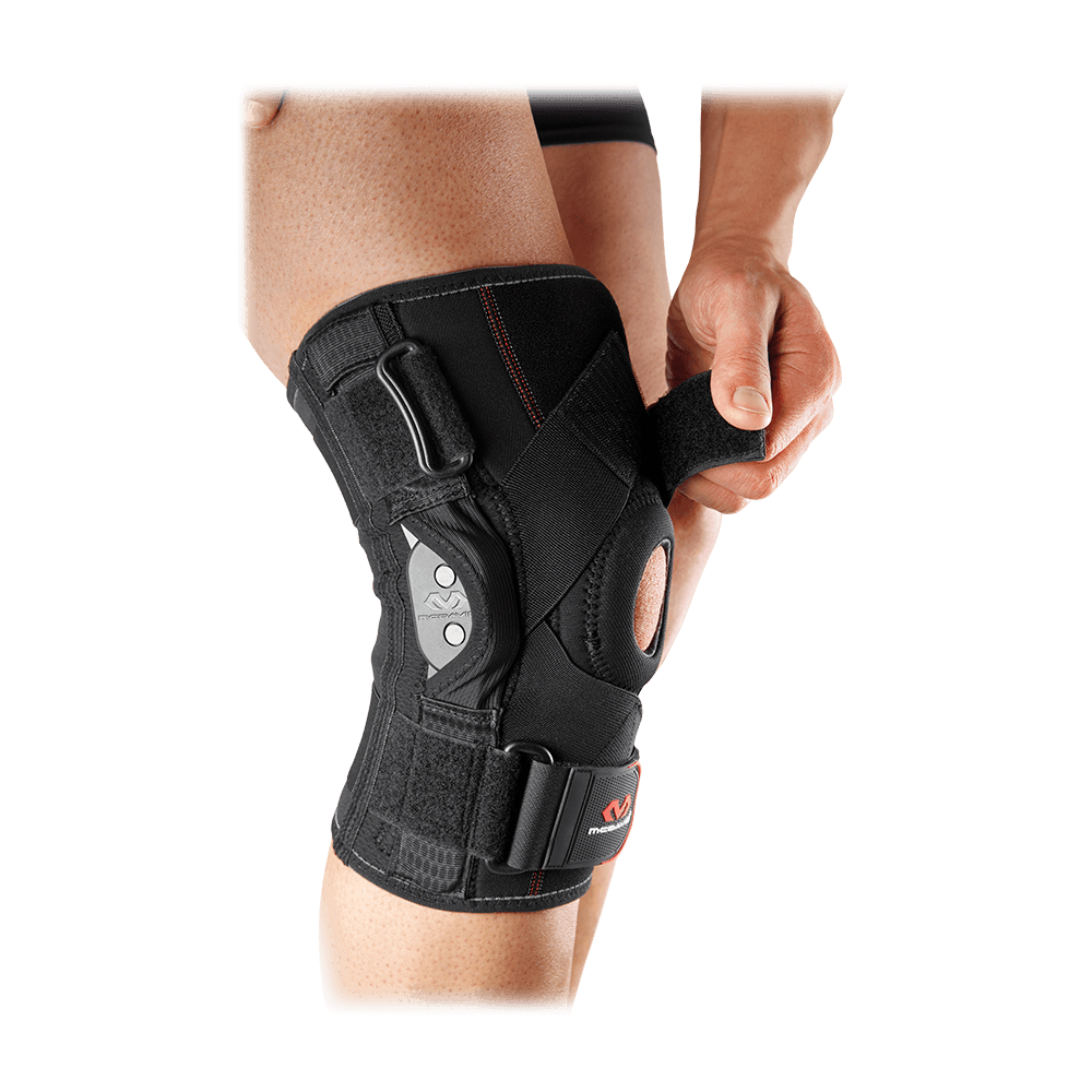 McDavid Knee Brace w/ Polycentric Hinges & Cross Straps Product Image
