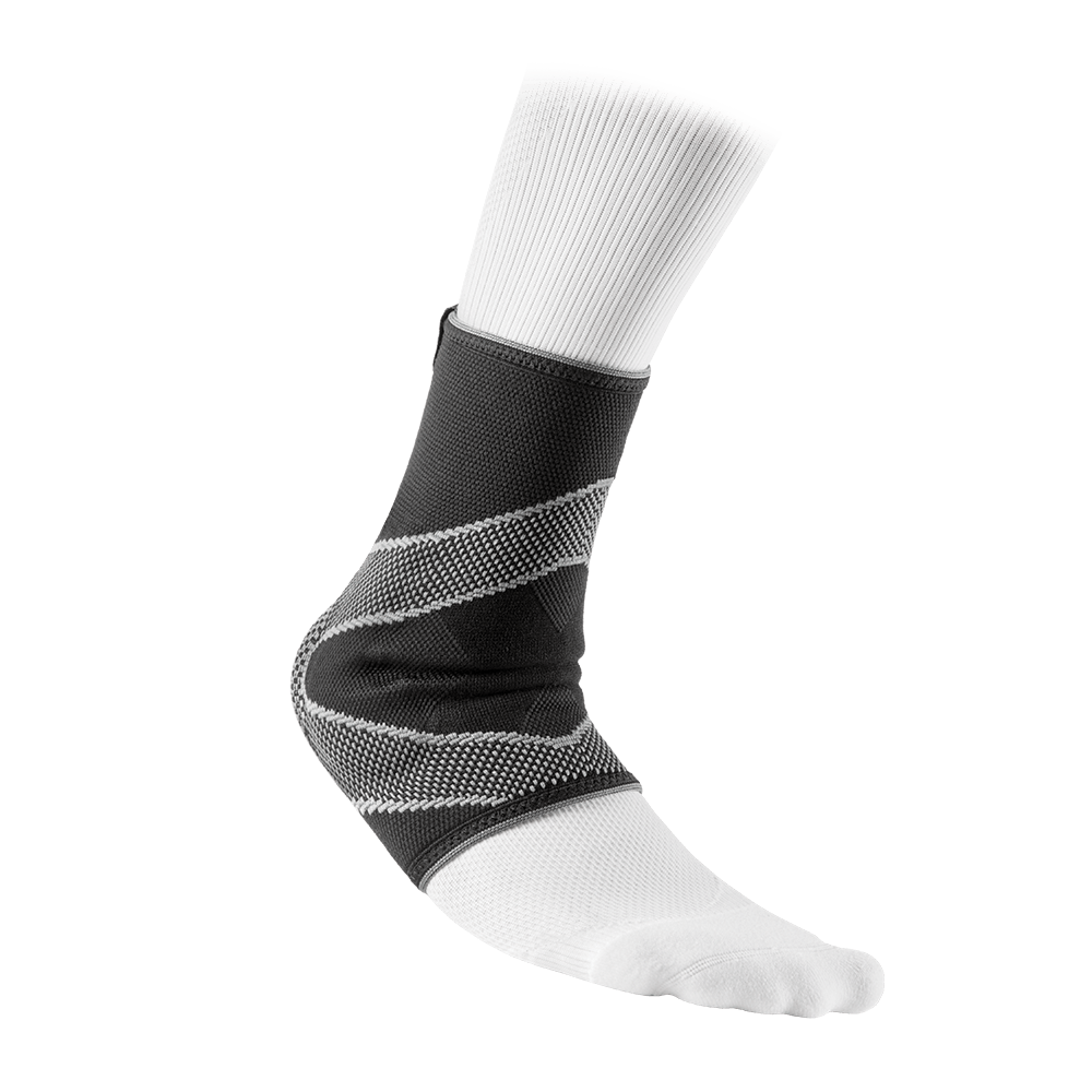 Ankle Sleeve/4-Way Elastic w/Gel Buttresses