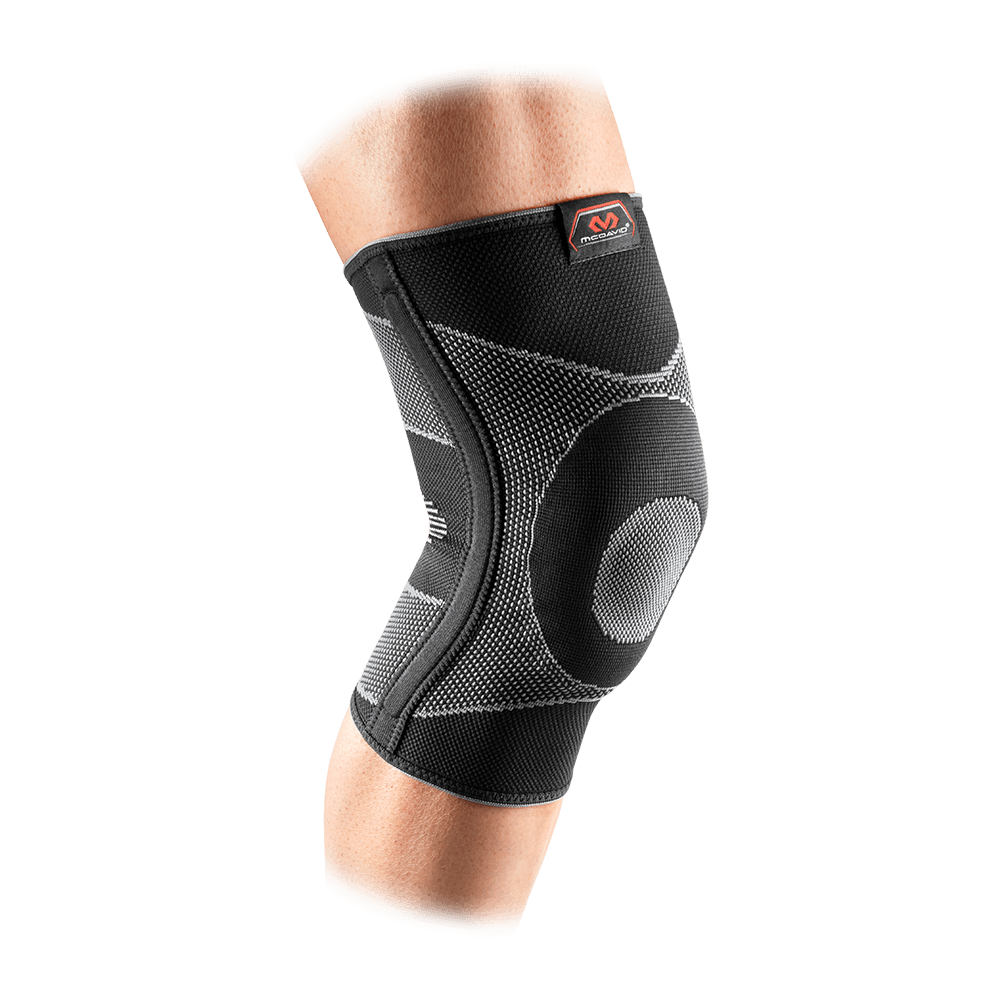 Knee Sleeve/4-Way Elastic w/Gel Buttress And Stays