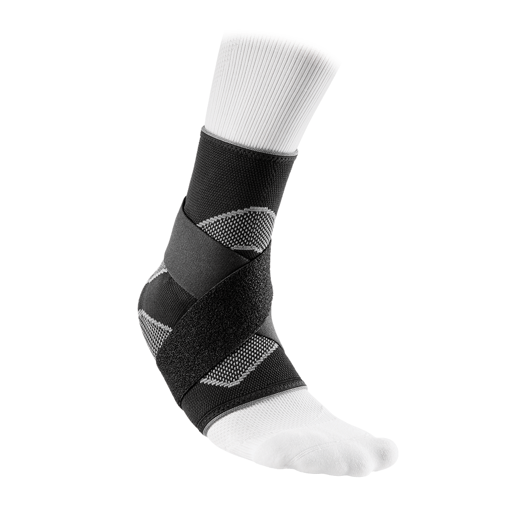 Ankle Sleeve/4-Way Elastic w/Figure-8 Straps - McDavid