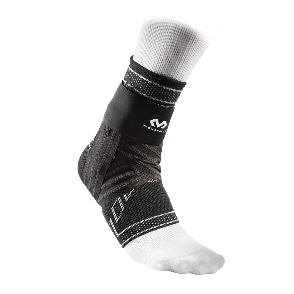 ELITE Engineered Elastic™ Ankle Brace w/ Figure-6 Strap & Stays