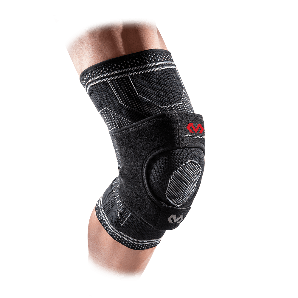 ELITE Engineered Elastic™ Knee Support w/ Dual Wrap & Stays