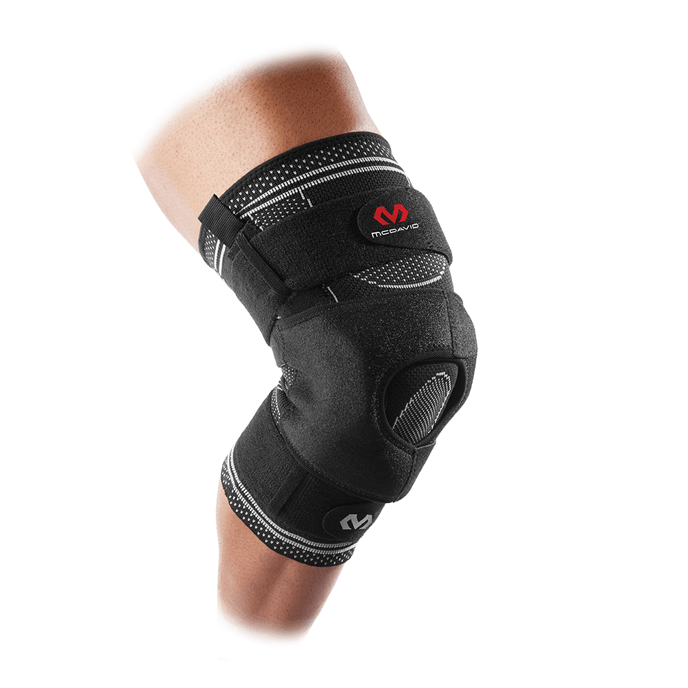 ELITE Engineered Elastic™ Knee Brace w/ Dual Wrap & Hinges - McDavid