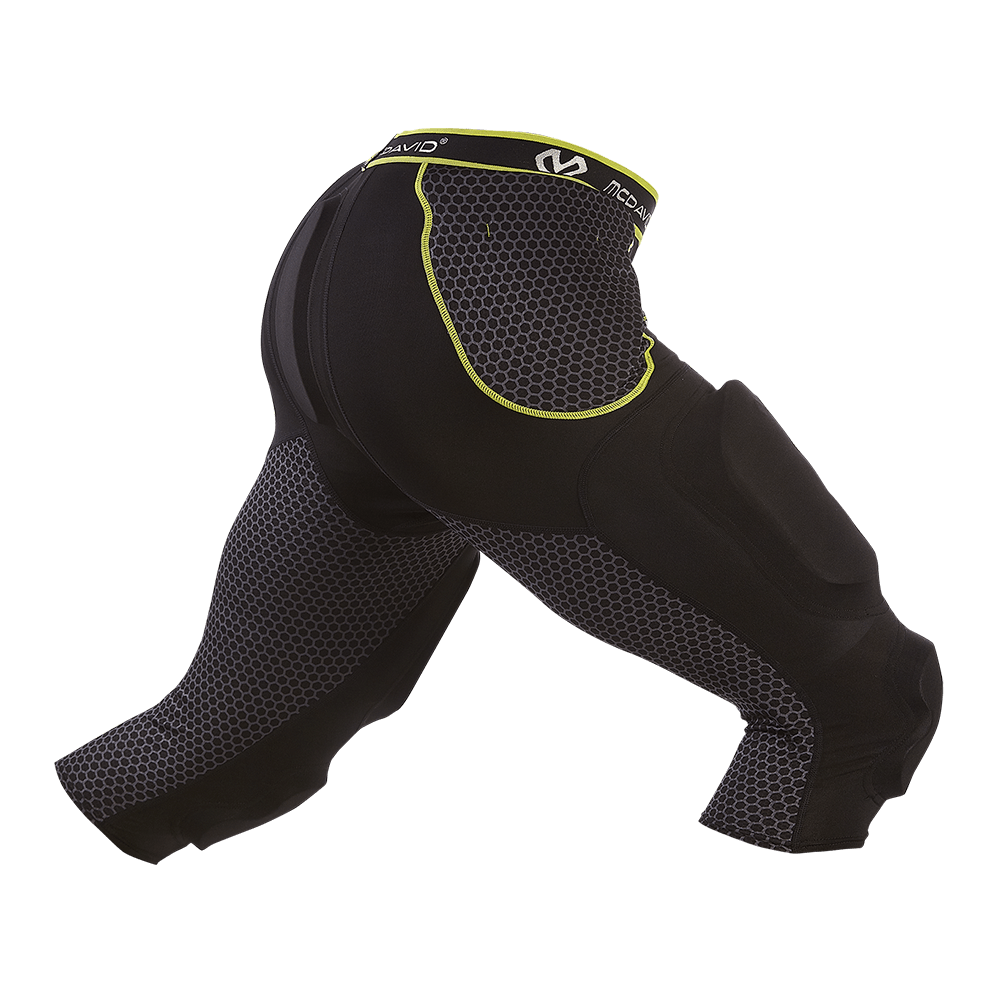 Rival™ 7-Pad 3/4 Tight with Hard-Shell Thigh Guards