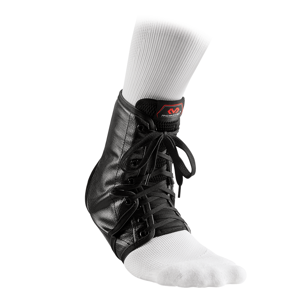 Ankle Brace/Lace-Up w/Inserts