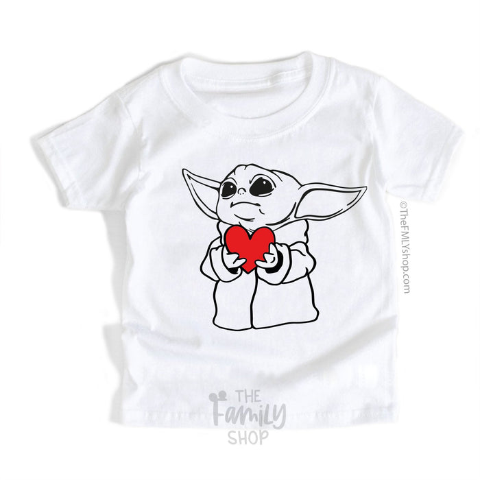 The Child Baby Yoda T-shirt For Kids - Disney MatchingShirts, Disney Family Shirts, Disney Couple Shirts from The FMLY shop
