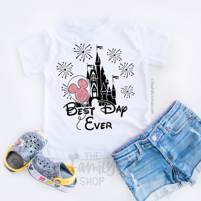 Best Day Ever / Kids Size - Disney MatchingShirts, Disney Family Shirts, Disney Couple Shirts from The FMLY shop