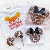 Hakuna Matata Animal Kingdom Shirt for Kids, Mickey Sun Hakuna Matata Kids Shirt