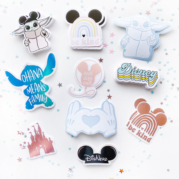 Disney Pastel Colors Sticker