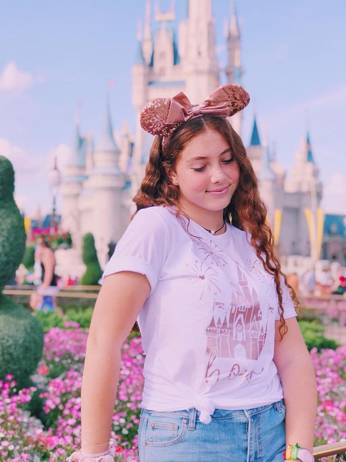 Home Disney Shirt / Rose Gold Disney Home / All Sizes - Disney MatchingShirts, Disney Family Shirts, Disney Couple Shirts from The FMLY shop