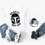 Mando and The Child Matching Shirts Father and Son Star Wars Shirts Set of 2 - Disney MatchingShirts, Disney Family Shirts, Disney Couple Shirts from The FMLY shop